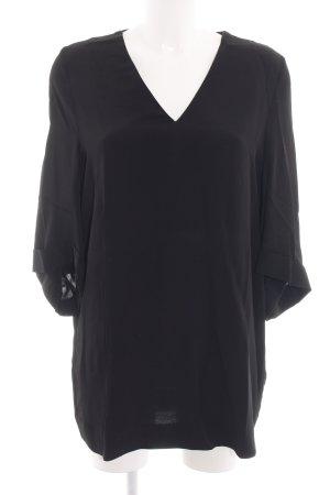 COS Schlupf-Bluse schwarz Elegant