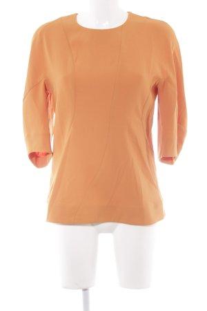 COS Schlupfbluse orange Business-Look