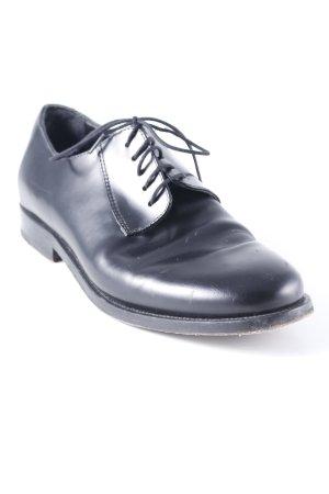 COS Schnürschuhe schwarz minimalistischer Stil