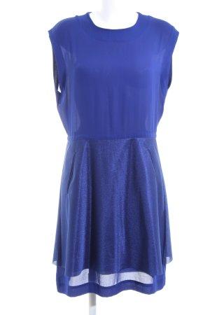 COS Peplum jurk blauw casual uitstraling