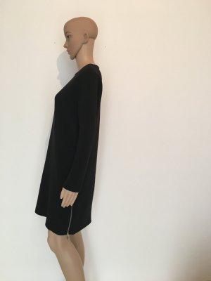 COS Robe à manches longues noir