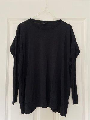 COS schwarzer Pullover schlicht Scandi