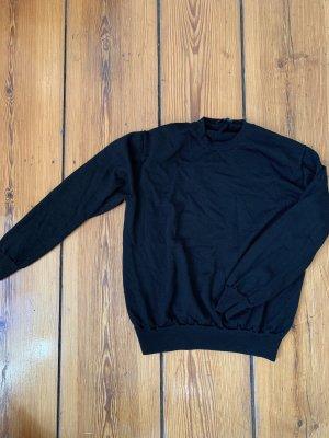 COS schwarzer Rundhalspullover Wollpullover Sweater in S
