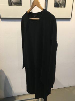 COS, schwarzes Jerseykleid, knielang, Größe S, ungetragen