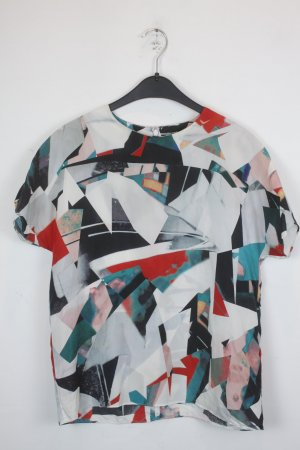 COS Print Shirt multicolored silk