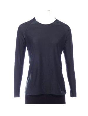 Cos Shirt Dunkelblau XS 34 Glanz Glänzend langarm