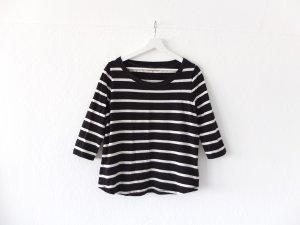 COS Shirt Gr. M 38 40 schwarz weiß gestreift