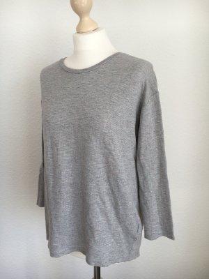 COS Shirt grau meliert neon s 36 38