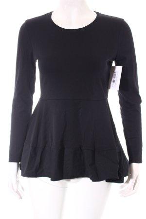 COS Shirt schwarz minimalistischer Stil