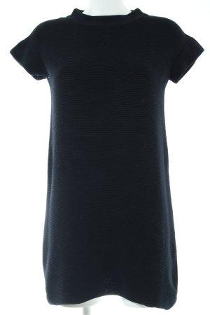 COS Vestido estilo camisa negro estilo «business»