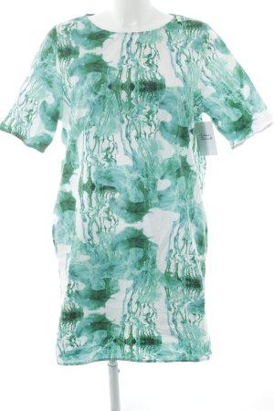 COS Robe t-shirt motif abstrait style décontracté