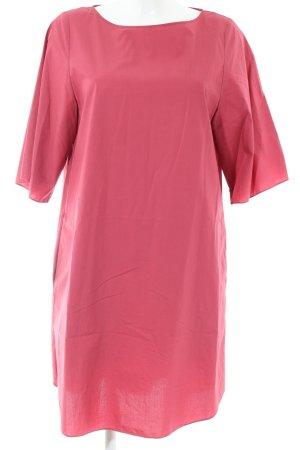 COS Vestido estilo camisa rosa elegante