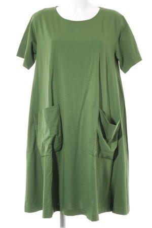 COS Shirt Dress grass green minimalist style