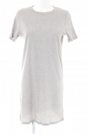 COS Vestido estilo camisa gris claro-gris moteado look casual