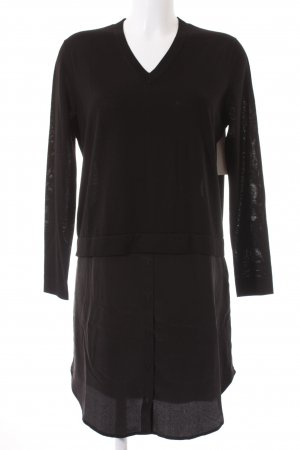 COS Shirt Dress black layered look