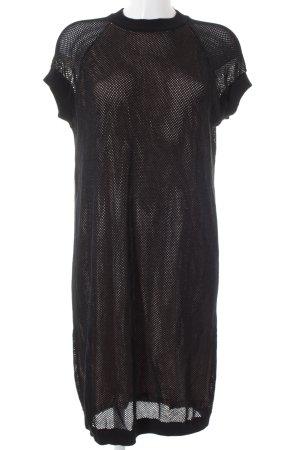 COS Shirtkleid schwarz sportlicher Stil