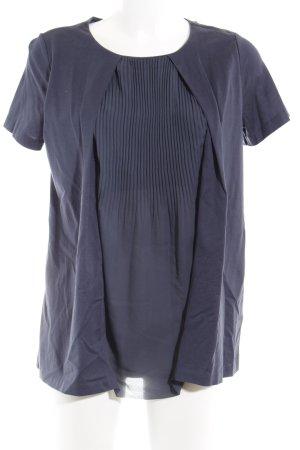 COS Camisa tipo túnica azul oscuro elegante