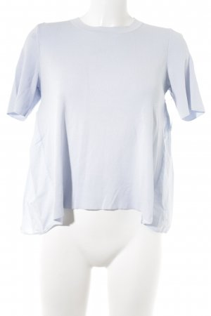 COS Shirttunika himmelblau Romantik-Look