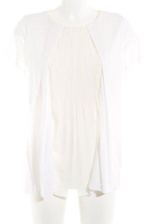 COS Camisa tipo túnica blanco puro elegante