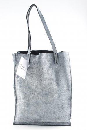 COS Shopper slate-gray-black flecked simple style