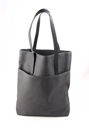 COS Shopper schwarz schlichter Stil