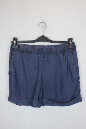 COS Pantalón corto de tela vaquera azul Algodón