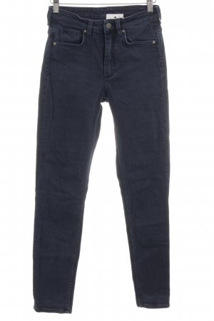 COS Skinny jeans blauw casual uitstraling