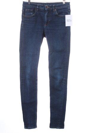 COS Skinny Jeans blau schlichter Stil