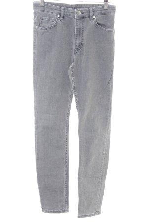 COS Skinny Jeans hellgrau meliert Casual-Look