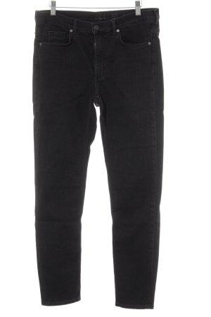 COS Skinny Jeans schwarz Casual-Look