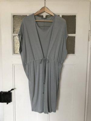 COS Sommerkleid, Kleid grau Silber