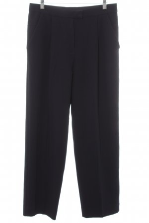 COS Jersey Pants dark blue business style