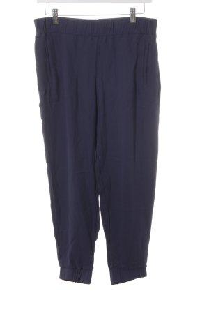 COS Jersey Pants dark blue casual look