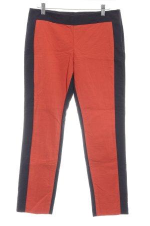 COS Stoffhose rot-dunkelblau Casual-Look