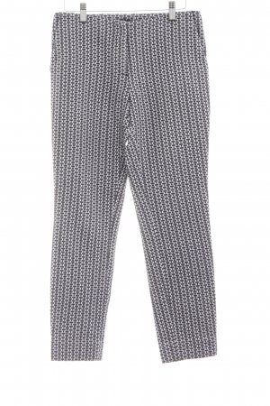 COS Jersey Pants black-white abstract pattern casual look