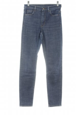 COS Stretch Jeans blau Casual-Look