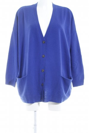 COS Knitted Cardigan blue casual look