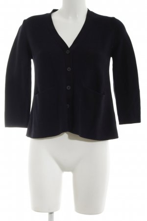 COS Knitted Cardigan black business style