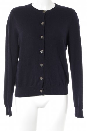 COS Strick Cardigan dunkelblau Casual-Look