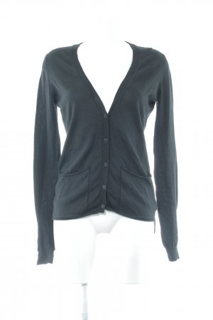 COS Strick Cardigan schwarz Casual-Look