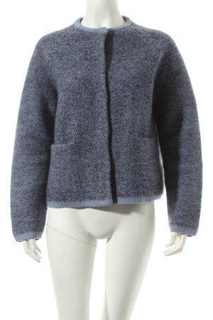 COS Strickblazer blau Street-Fashion-Look