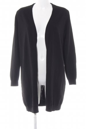 COS Strickblazer schwarz Casual-Look