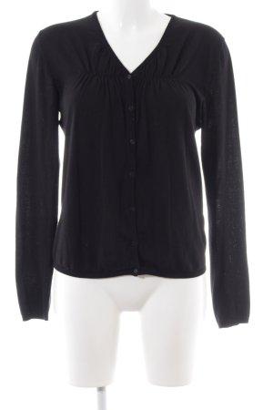 COS Veste en tricot noir style décontracté