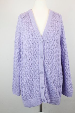 COS Strickjacke Cardigan Gr. S lila flieder oversized