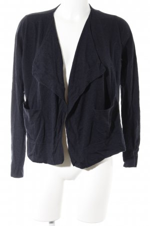 COS Strickjacke dunkelblau Casual-Look