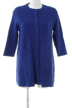 COS Giacca in maglia blu stile casual