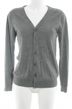 COS Strickjacke grau Casual-Look