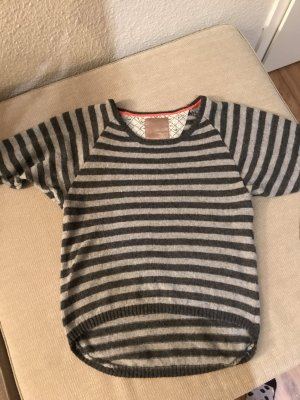 Culture Knitted Sweater silver-colored-dark grey