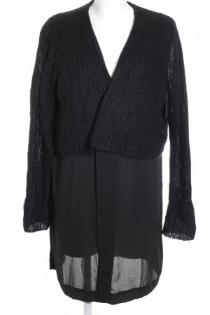 COS Strickjacke schwarz College-Look