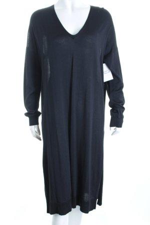 COS Strickkleid dunkelblau klassischer Stil